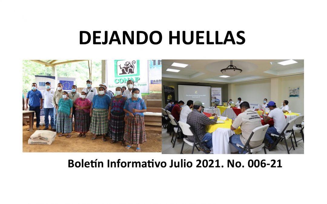 Boletín informativo Balam Julio 2021