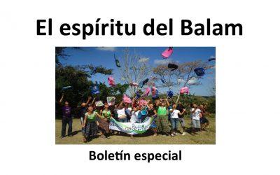 Boletín Especial «El Espiritu del Balam»